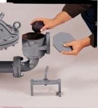 Hard wearing filter press feed pumps
