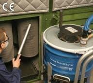 Powerful new industrial vacuum from EXAIR