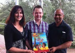 Children's book helps to boost literacy