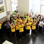 MaxiTRANS staff celebrate