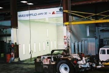 Masterflo - Large Machinery Spray Booths