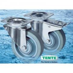 Tente Stainless Steel Castors