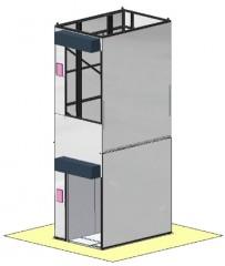 Column Mount Freight Hoist