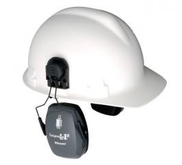 Noise Blocking Earmuffs: Leightning Cap-Mounted Earmuffs