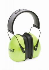 Noise Blocking Earmuffs: Leightning L3 Hi-Visibility Earmuffs