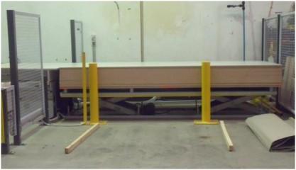 Optimum Handling Solutions Scissor Lifts for Panel Lifting