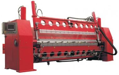 Oscillating Dual Beam Folding Machine
