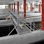 Radar sensors in wastewater processing