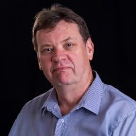 Editor Barry O'Hagan