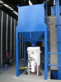 Magnaite - Abrasive Storage Hoppers