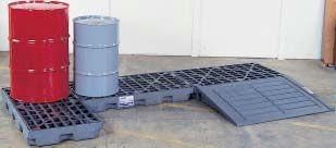 Justrite Gator Low Profile Accumulation Centres